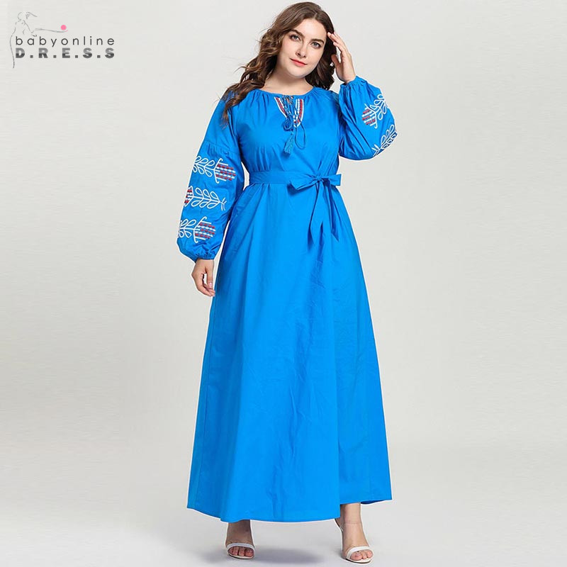 Middle East Blue Arabic Long Evening Dress Pattern A-line With Tassel Dubai Evening Gown Bowknot Robe De Soiree Abendkleider