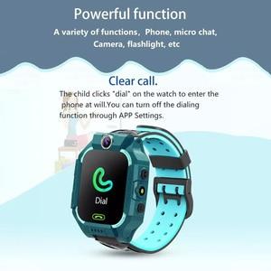 Image 5 - Q19 /G7/G5 çocuklar akıllı saat görüntülü sohbet akıllı oyunlar uzaktan fotoğraf SOS acil yardım akıllı saat