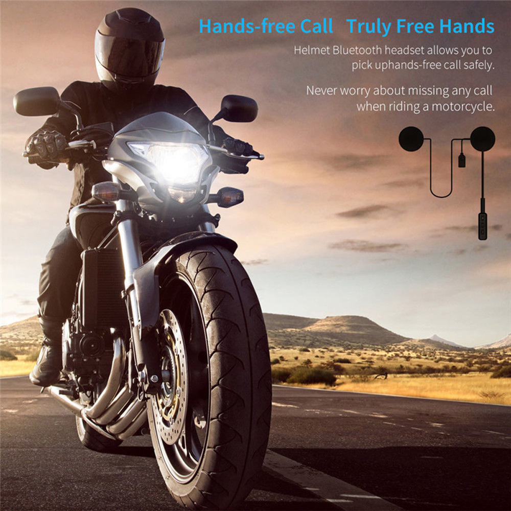 MH01 Motorrad Drahtlose Bluetooth Kopfhörer Helm Headset Dual Stereo Lautsprecher Mit Bluetooths Motorrad Zubehör