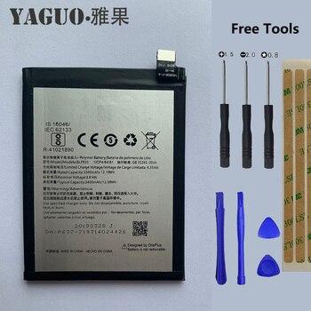 100% batería Original de 3400mAh para Oneplus BLP633, reemplazo de teléfono inteligente OnePlus3T One Plus 3T Plus3T + herramientas gratis