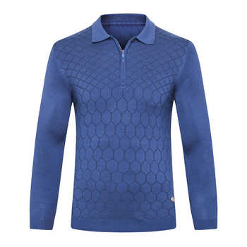 Billionaire sweater wool men\'s 2019 New Fashion zipper comfort printing designed high quality gentleman big M-5XL free shipping - DISCOUNT ITEM  17 OFF Men\'s Clothing