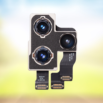 Cámara trasera FIXBULL para iphone 7 8 Plus X Xr XS 11 Pro Max cámara trasera objetivo principal Flex cable Flash Módulo Sensor partes