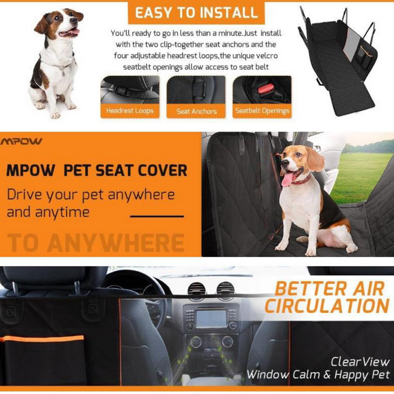 Waterproof Dog Seat Cover With Non Slip Surface For Pets And Cats 2