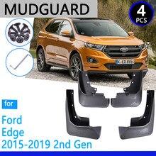 Mudguards apto para ford edge 2015 2019 2016 2017 2018 acessórios do carro mudflap fender peças de reposição automóvel