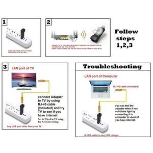 Image 3 - Dla Panasonic Viera Smart TV bezprzewodowy Adapter USB Wi fi TY WL20U Lan alternatywa