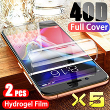 5Pcs Hydrogel Film Screen Protector For iPhone 7 8 Plus 6 6s SE 2 Soft Protective Film On iPhone X/XR/11XS Pro Max Hydrogel Film