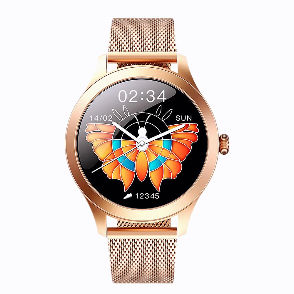 Permalink to Fashion Female Smart Watch 24 Hours Heart Rate Monitor Women Lady Smartwatch 9 Sports Mode Fitness Tracker KW10 Pro Clock 2021