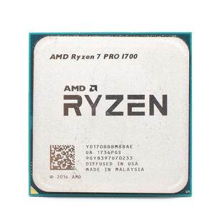 AMD Ryzen 7 PRO 1700 R7 PRO 1700 3.0GHz Eight-Core Sixteen-Thread CPU Processor 65W YD170BBBM88AE Socket AM4