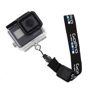 Image 2 - Dragonne/dragonne pour GoPro Hero 8 7 6 5 sessio 4 sj5000 SJ6 sj8 xiaoyi 4K DJI Osmo lanière de caméra daction logo de ceinture à dégagement rapide