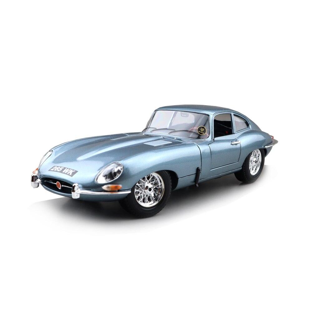 Коллекция 1/18 года, модель Jaguar E type Coupe Bburago 12044, литые модели автомобилей, игрушки для мальчиков и девочек, подарки|Наземный транспорт| | АлиЭкспресс