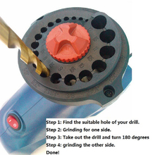 Electric-Drill-Bit-Sharpener Drill-Grinder-Machine 220V for Range 3-12mm Eu-Plug High-Speed