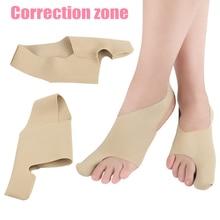 1 Pair Bunion Toe Straightener Bandage Hallux Valgus Corrector Foot Care Orthosi