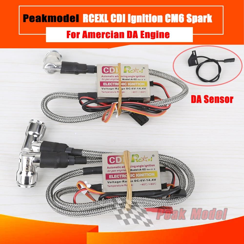 RCEXL CDI igniter for American DA engine HV high pressure version /CM6 spark Plug