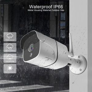 Image 4 - 1080P 5MP Wifi IP המצלמה ONVIF אלחוטי כדור מצלמה חיצוני SD כרטיס חריץ שתי דרך אודיו 1920*1080 ראיית לילה 20m אפליקציה iCsee