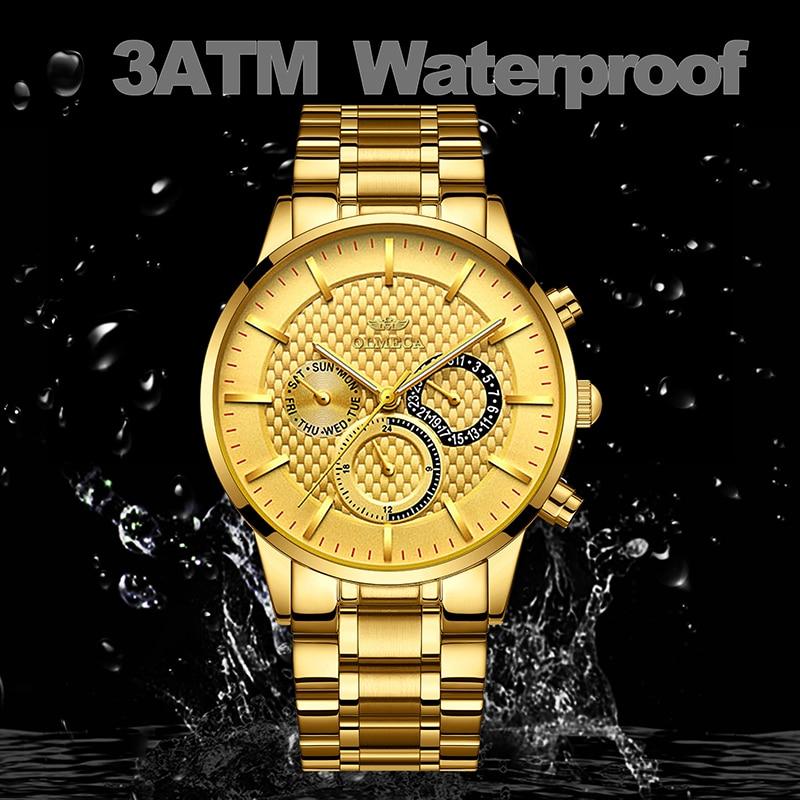 à prova dwaterproof água relógio masculino