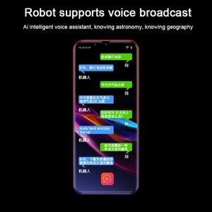 Image 4 - M16 Mini play store Cell Phones 32GB / 64GB ROM MT6739V/CWA Quad Core Fingerprint Unlocked 4G Smartphone Android 8.1