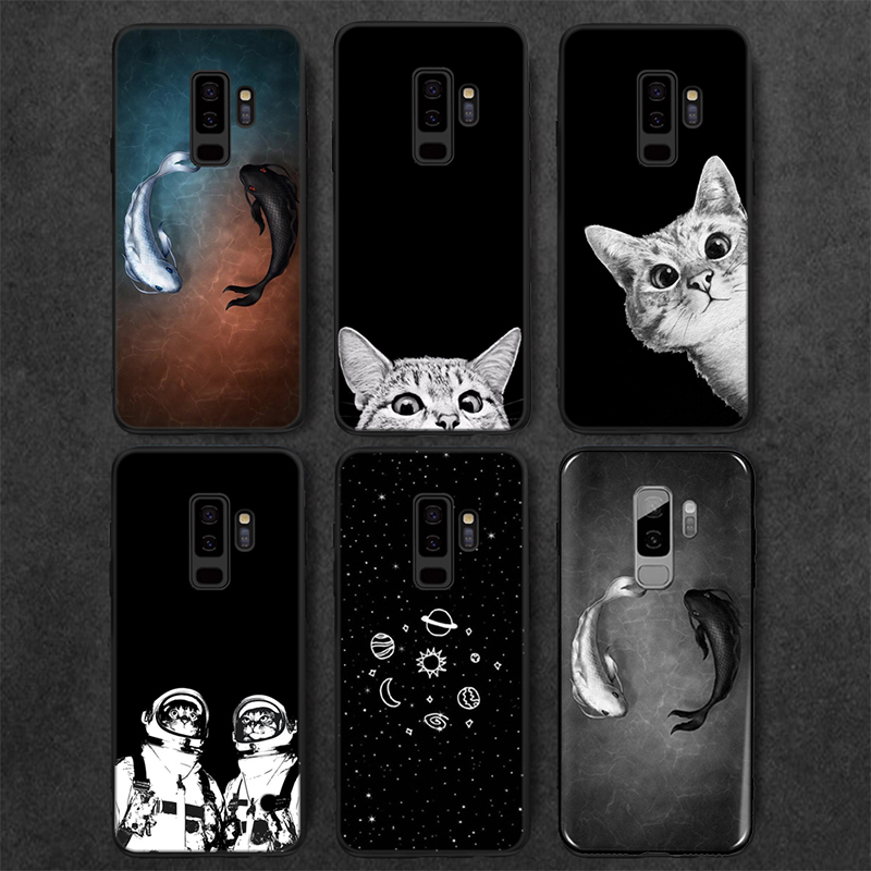Ultra Slim Painted Space Moon Matte Soft TPU Phone Case for Xiaomi Redmi 3S 4A 4X 5A 6A 6 Pro 7A K20 K20 Pro S2 Note 4X Note 7