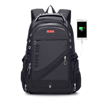 New 2019 Male Multifunction USB Charging Fashion Business Casual Tourist Anti theft Waterproof 15.6 Inch Laptop Men Backpack