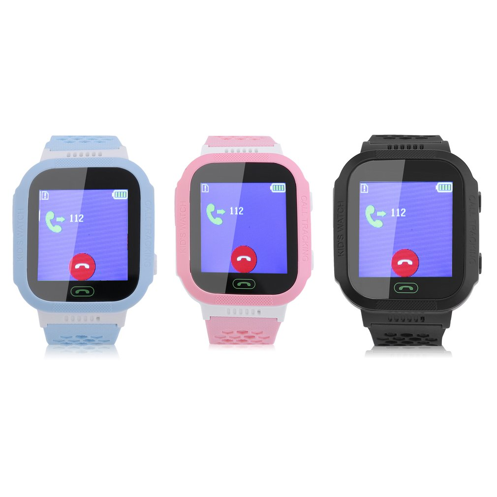 Y21S Children Smart Watch Anti-lost Kids Safe GPS Tracker SOS Call GSM Smartwatch Bracelet Smart Positioning Fit For Android IOS