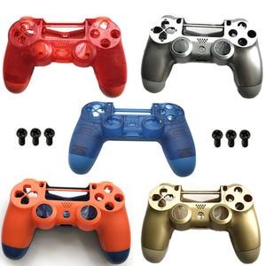 Image 1 - PS4 PRO obudowa obudowa przednia wymiana dla konsoli Playstation 4 Dualshock 4 Pro 4.0 V2 Gen 2th kontroler JDM 040 JDS 030