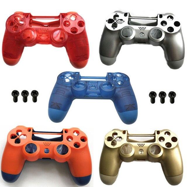 PS4 PRO obudowa obudowa przednia wymiana dla konsoli Playstation 4 Dualshock 4 Pro 4.0 V2 Gen 2th kontroler JDM 040 JDS 030