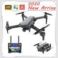 2020 Новый Дрон K20 бесщеточный мотор 5G gps Дрон с 4K HD двойной камерой Профессиональный складной Квадрокоптер 1800 м радиоуправляемая игрушка