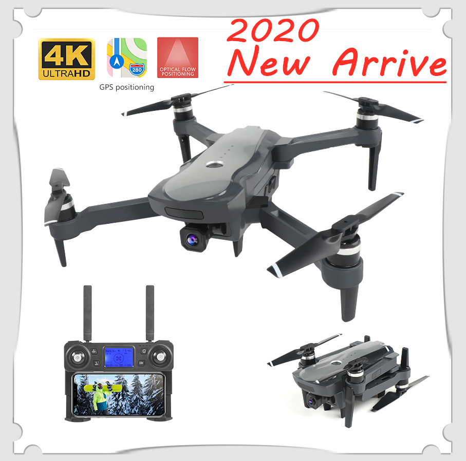 2020 New <font><b>Drone</b></font> K20 <font><b>Brushless</b></font> <font><b>Motor</b></font> 5G GPS <font><b>Drone</b></font> With 4K HD Dual Camera Professional Foldable Quadcopter 1800M RC Distance Toy image