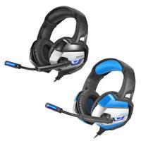 ONIKUMA K5 Gaming Headset Deep Bass Headphones LED Light Noise Reduction Earphone with Mic for Computer PC Laptop Notebook|Headphone/Headset| |  -