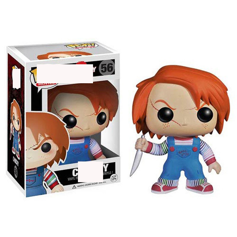 Funko Pop Ghost Baby It Garage Kit Doll Model Chucky Decoration Toy Clown Chucky 56 #