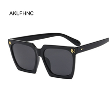 Luxury Rectangle Sunglasses Women Brand Design Retro Colorfu