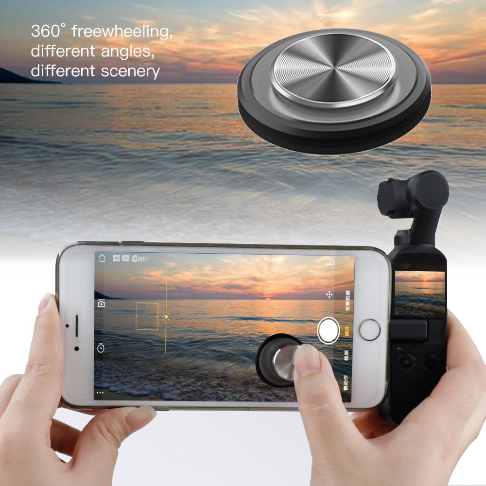 Joystick Firm Phone Suction Cup Rocker Protector For Dji Osmo Pocket Remote Button Thumb Stick Handheld Gimbal Accessories