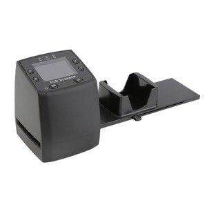 Protable Negative Film Scanner 35mm Slide Viewer Scanner USB Digital Color Photo Scanner Slide Film Converter 2.4