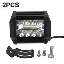 2pcs/set 4 20-LEDs 3030 LED Working Light Headlights Headlamps IP67 60W 8000LM for car/Off-road/Truck