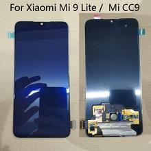 """סופר AMOLED עבור 6.39 """"שיאו mi Mi CC9 LCD תצוגת מסך + מסך מגע Digitizer הפנל עבור Xiao mi Mi 9 לייט"""