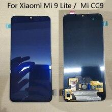 """Süper AMOLED 6.39 """"Xiaomi Mi CC9 LCD ekran + dokunmatik ekran paneli sayısallaştırıcı değiştirme için Xiaomi Mi 9 Lite"""