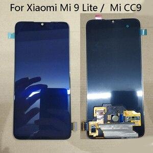 Image 1 - ЖК дисплей Super AMOLED для Xiaomi Mi CC9, экран 6,39 дюйма + сенсорная панель, дигитайзер, замена для Xiaomi Mi 9 Lite