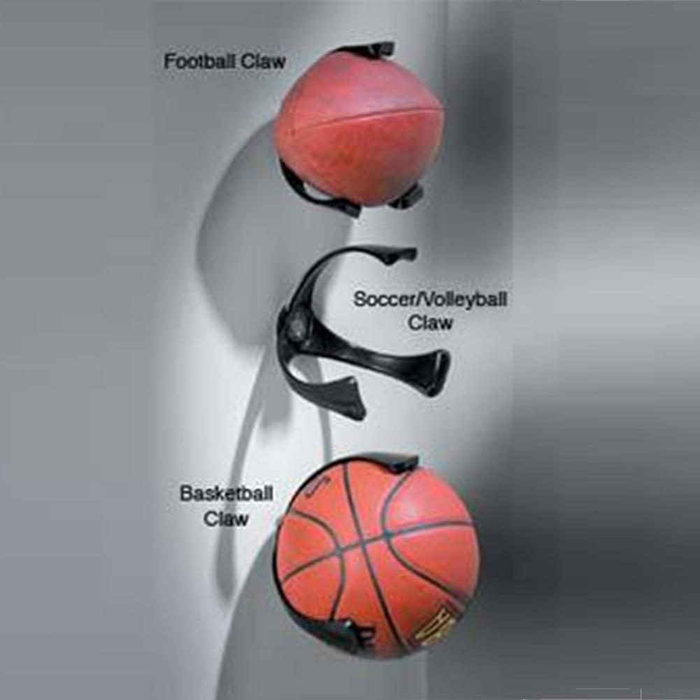 Basketball Ball Display Rack Volleyball Storage Ball Catch Ball Storage Artifact Storage Bag Bracket Display Fixed On The Wall