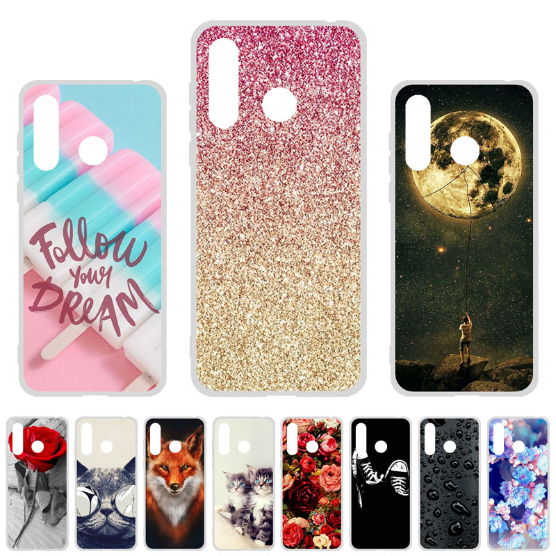 Phone Case For Doogee N20 Cases Silicon Soft TPU Cute Cat Painted Back Coque For Doogee N20 6.3 inch Cover Fundas Bumper Shell image