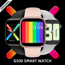 Reloj inteligente G500 Serie 6 para hombre y mujer, pulsera con ECG, control del ritmo cardíaco, Bluetooth, IOS, Android, PK IWO 8 13 10 11x6x7, amazfit W26 series 5