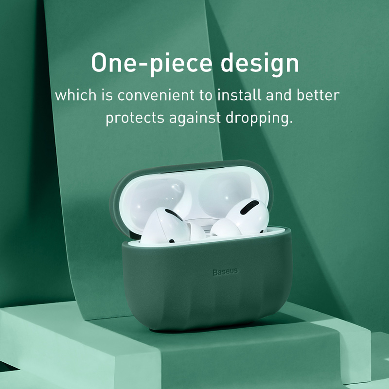Baseus Antislip Case Voor Airpods Pro Case Siliconen Draadloze - Draagbare audio en video - Foto 5