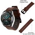 Ремешок из телячьей кожи для наручных часов, мягкий браслет для Huawei Watch Gt2 pro 46/Magic GT/Honor Magic 1/2, 22 мм