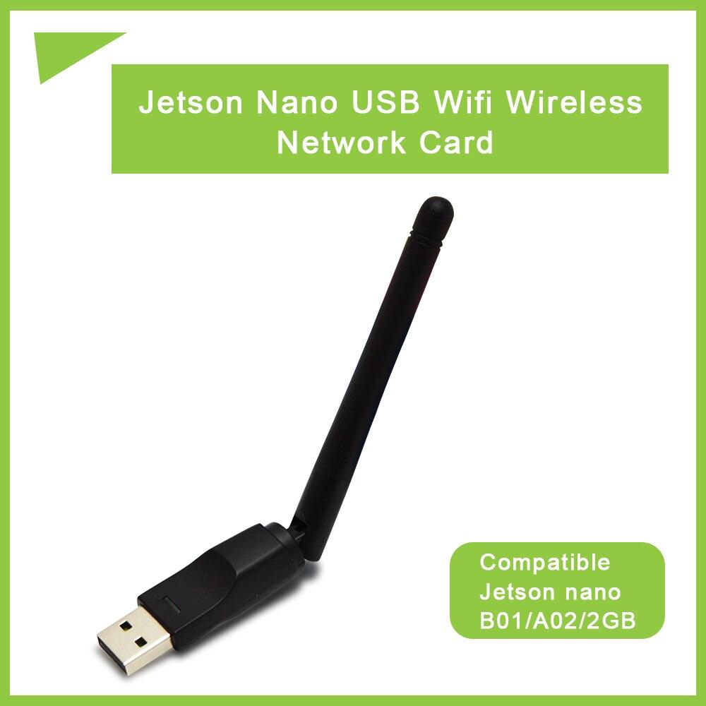 Jetson Nano USB WIFI беспроводная сетевая карта 2,4G WIFI антенна 150 м подходит для Jetson nano B01/A02/2GB raspberry pi 4/pi 3