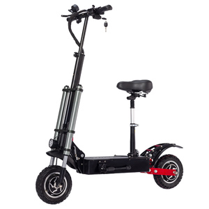 Janobike electric scooter twin engine 10 inch adult off-road city travel hydraulic disc brake hydraulic shock-absorbing scooter