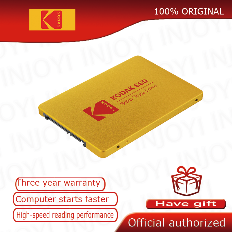 Kodak SSD X100 wewnętrzny 120GB 240GB 480GB 960GB 2.5 cal SATA III SSD dysk twardy HDD HD na notebooka