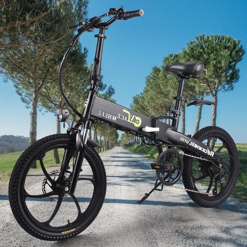 Folding bike Aluminum Electric electric Bicycle 20inch 400W Powerful Mottor 48V10A Battery 32km/h Mountain e bike city/Snow bike 1