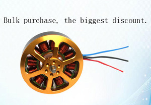 Image 5 - 5010 Brushless Motor KV340 KV280 For Multirotor Quadcopter Multi Copter Drone 1/4/6/8pcs
