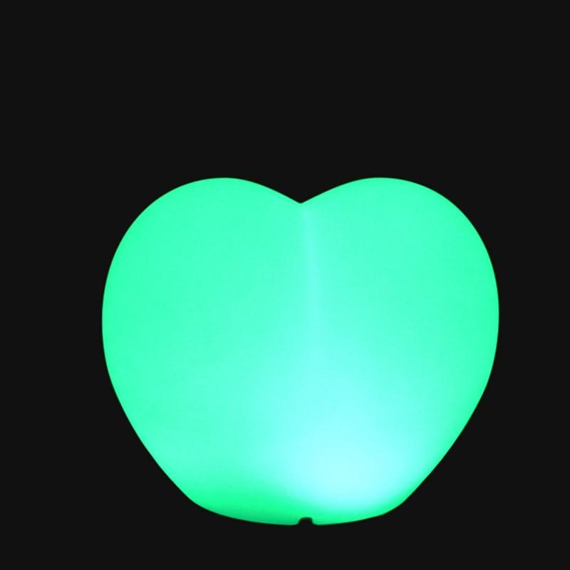 Romantični svjetlosni oblik srca LED baterija za napajanje od RGBW - Unutarnja rasvjeta - Foto 2