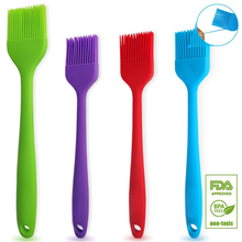WALFOS Pastry Brushes-BBQ cake oil brush for barbecue grill -heat resistant Silicone Basting Brushes for cooking kitchen brush cheap Stocked Eco-Friendly W0-C0013 Baking Pastry Tools LFGB CE EU -40F to +446F (-40c to +230c) Rohs SGS FDA LFGB Eco--Friendly non-stick durable easy to clean