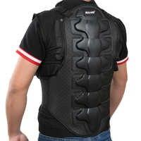 Moto armure veste hommes sans manches armure gilet extérieur Motorcross RC poitrine de protection Sport équipement garde moto accessoires