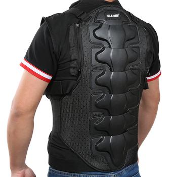 Pancerz motocyklowy kurtka męska kamizelka bez rękawów kamizelka Outdoor Motorcross RC skrzynia ochronna Sport Gear Guard akcesoria motocyklowe tanie i dobre opinie Motorcycle Protective Gear